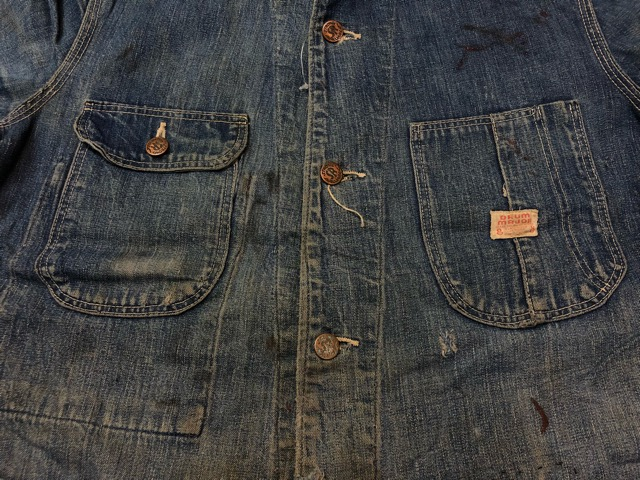 12月25日(水)マグネッツ大阪店ヴィンテージ入荷日!! #6 DenimWork編!! MONTGOMERY WARD & DRUM MAJOR, BIG MAC, PIONEER!!_c0078587_0483914.jpg