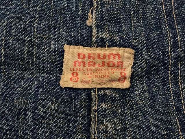 12月25日(水)マグネッツ大阪店ヴィンテージ入荷日!! #6 DenimWork編!! MONTGOMERY WARD & DRUM MAJOR, BIG MAC, PIONEER!!_c0078587_048595.jpg