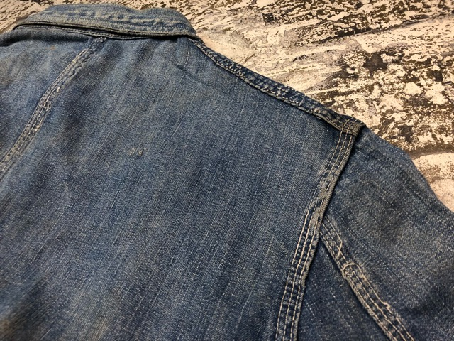 12月25日(水)マグネッツ大阪店ヴィンテージ入荷日!! #6 DenimWork編!! MONTGOMERY WARD & DRUM MAJOR, BIG MAC, PIONEER!!_c0078587_0493626.jpg