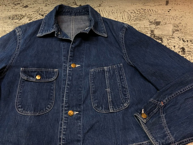 12月25日(水)マグネッツ大阪店ヴィンテージ入荷日!! #6 DenimWork編!! MONTGOMERY WARD & DRUM MAJOR, BIG MAC, PIONEER!!_c0078587_0524116.jpg