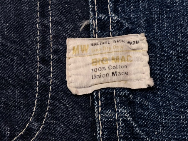 12月25日(水)マグネッツ大阪店ヴィンテージ入荷日!! #6 DenimWork編!! MONTGOMERY WARD & DRUM MAJOR, BIG MAC, PIONEER!!_c0078587_055585.jpg