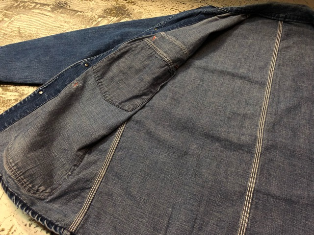 12月25日(水)マグネッツ大阪店ヴィンテージ入荷日!! #6 DenimWork編!! MONTGOMERY WARD & DRUM MAJOR, BIG MAC, PIONEER!!_c0078587_0580100.jpg
