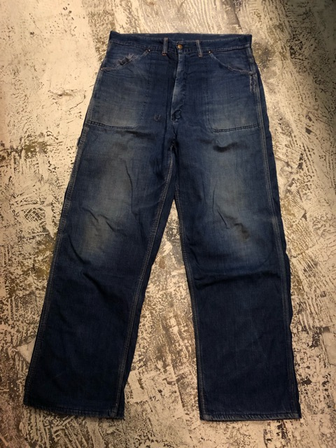 12月25日(水)マグネッツ大阪店ヴィンテージ入荷日!! #6 DenimWork編!! MONTGOMERY WARD & DRUM MAJOR, BIG MAC, PIONEER!!_c0078587_0591910.jpg