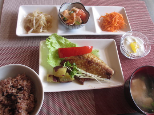 年末最終日のメニューは健康御膳 酵素玄米の食べ納め_b0340798_11115500.jpg