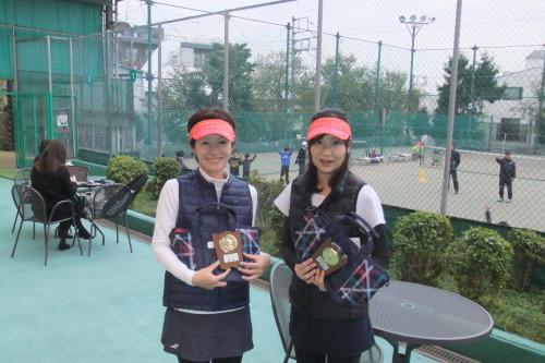2019年12月11日(水)女子ダブルスオープントーナメント_b0158200_13500610.jpg