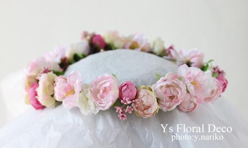 ピンク色の花冠_b0113510_17165735.jpg