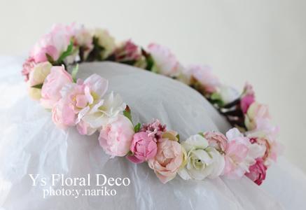 ピンク色の花冠_b0113510_17171405.jpg