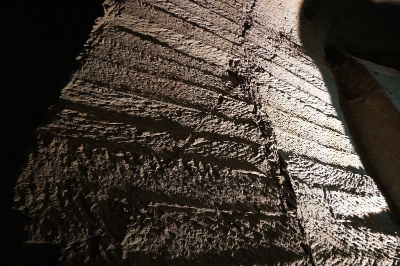 事務所の忘年会で笏谷石採掘場見学+勉強会+丹巌洞へ・・・_f0165030_08212859.jpg