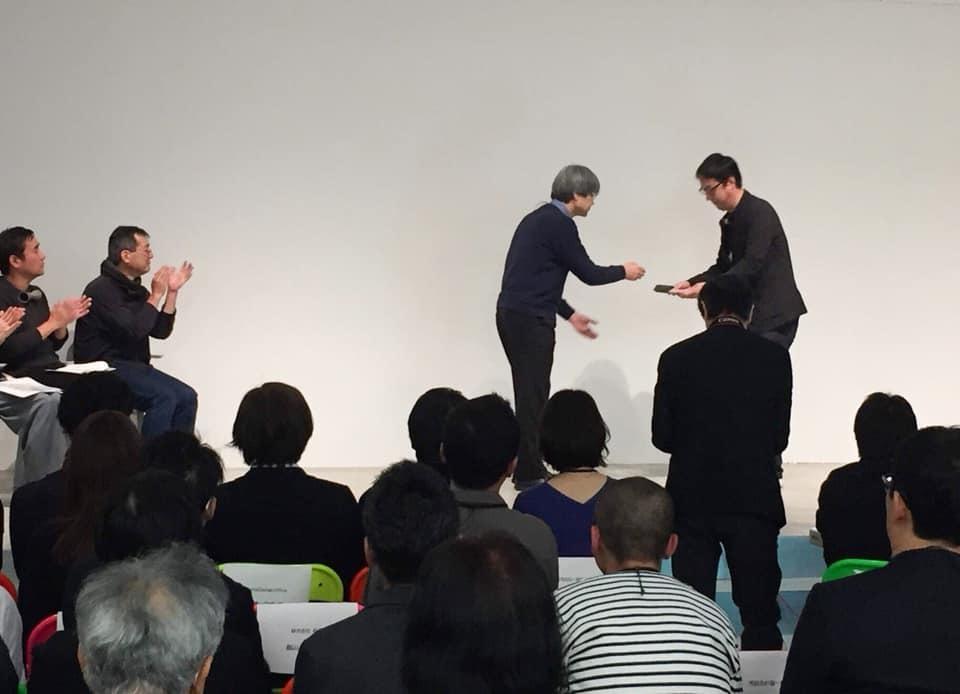 タニタハウジングウエア 屋根のある建築作品コンテストの表彰式&懇親会に参加してきました。_f0165030_08254730.jpg