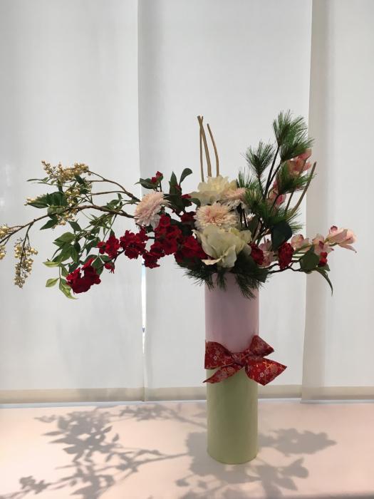 お正月のディスプレイ〜大阪ミルボン社さま_f0155431_21404389.jpg