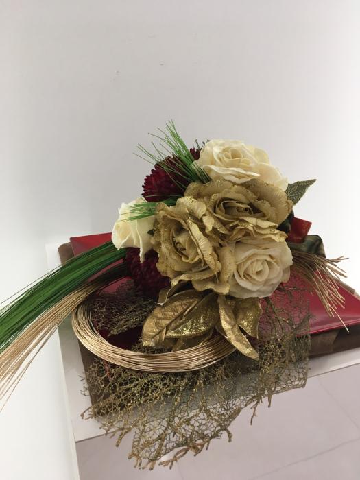 お正月のディスプレイ〜大阪ミルボン社さま_f0155431_21461341.jpg