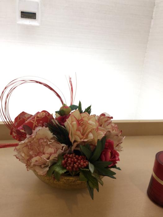 お正月のディスプレイ〜大阪ミルボン社さま_f0155431_21494749.jpg