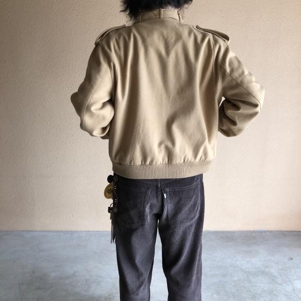 "80\'s~  \""MEMBERS ONLY\"" レインボータグ  Wool jacket!!!!!_c0355834_12524970.jpg"