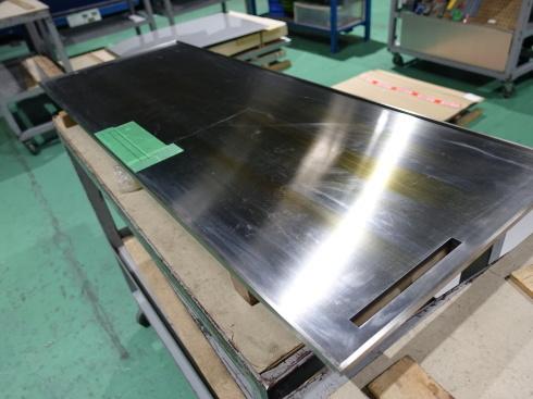 お好み焼き屋さんの鉄板にレーザー加工しました。_d0085634_11274547.jpg