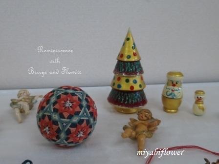 讃岐かがり手まり クリスマスによせて 芝桜_b0255144_17150940.jpg