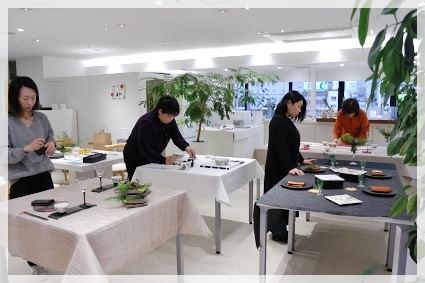 松尾摂子さんの器で冬のおもてなし ~ブラッシュアップAクラス_d0217944_15483449.jpg