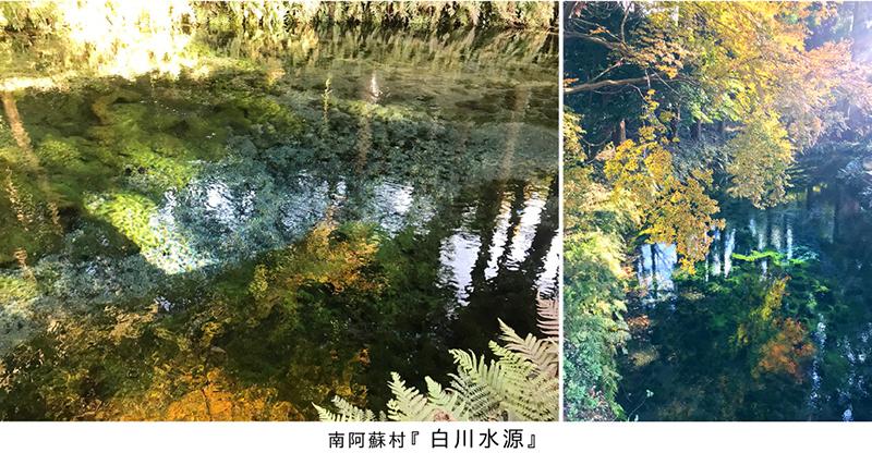 【瞬間的*熊本の旅】南阿蘇村に湧き出る『白川水源』のあまりにも美しい天然水!_d0018646_00330413.jpg