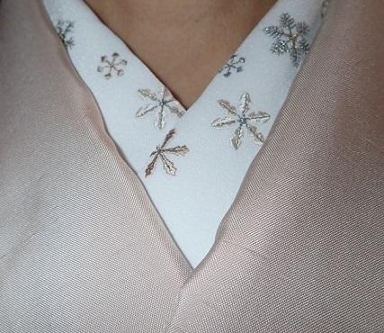 スワロ・パール・刺繍のXmas帯・青森と関東のお客様コーデ。_f0181251_19365046.jpg