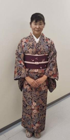 スワロ・パール・刺繍のXmas帯・青森と関東のお客様コーデ。_f0181251_19383066.jpg