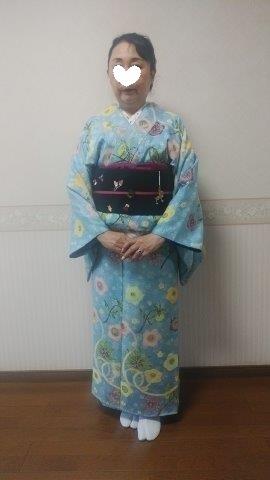 スワロ・パール・刺繍のXmas帯・青森と関東のお客様コーデ。_f0181251_19513803.jpg