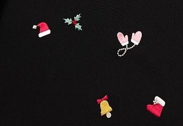 スワロ・パール・刺繍のXmas帯・青森と関東のお客様コーデ。_f0181251_19573735.jpg
