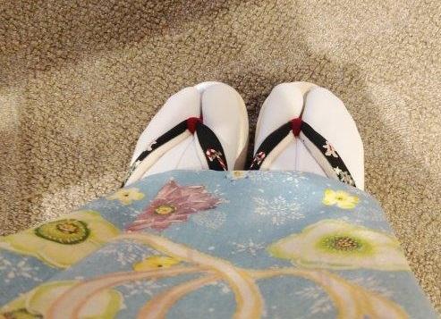 スワロ・パール・刺繍のXmas帯・青森と関東のお客様コーデ。_f0181251_20020764.jpg