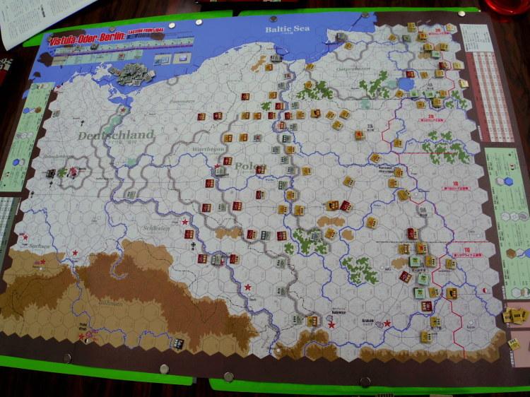 2019.07.27(土)第361回定例会の様子の様子その3...コマンドマガジン123号 第三帝国最後の戦い Vistula-Oder-Berlin: Eastern Front 1945_b0173672_14590141.jpg