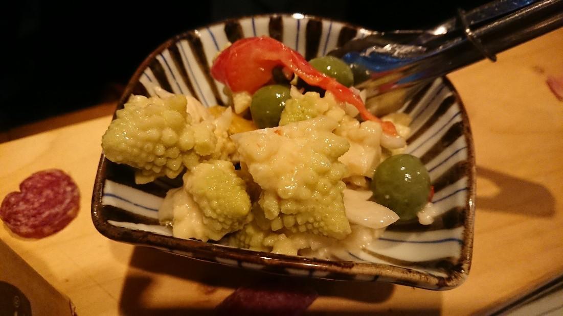 生ハム屋さんは一品料理も美味しかった☺️  @渋谷  Petalo_e0212073_22275974.jpg