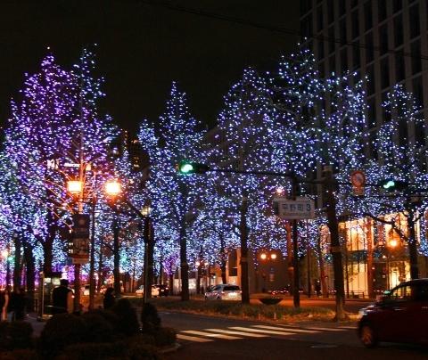 ◆クリスマスはイルミネーション_e0154682_23402643.jpg