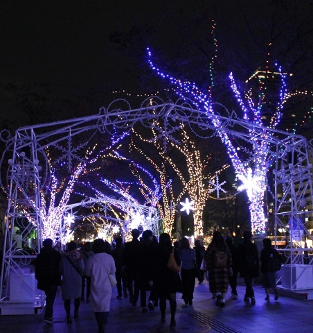 ◆クリスマスはイルミネーション_e0154682_23403990.jpg