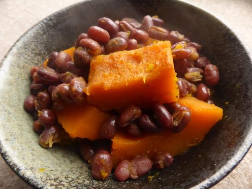 かぼちゃと小豆の煮物・いとこ煮_d0366590_19471787.jpg