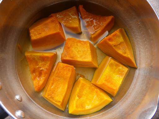 かぼちゃと小豆の煮物・いとこ煮_d0366590_19494409.jpg