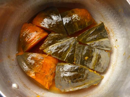 かぼちゃと小豆の煮物・いとこ煮_d0366590_19582824.jpg