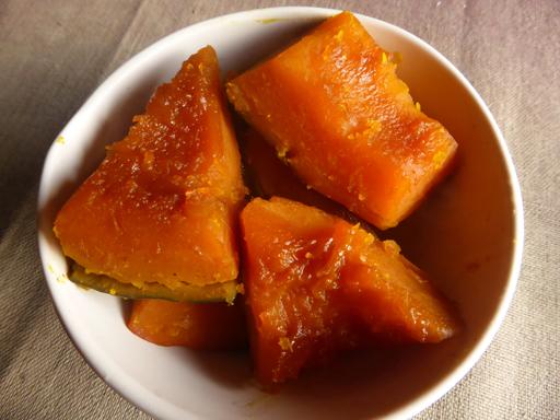 かぼちゃと小豆の煮物・いとこ煮_d0366590_19582881.jpg