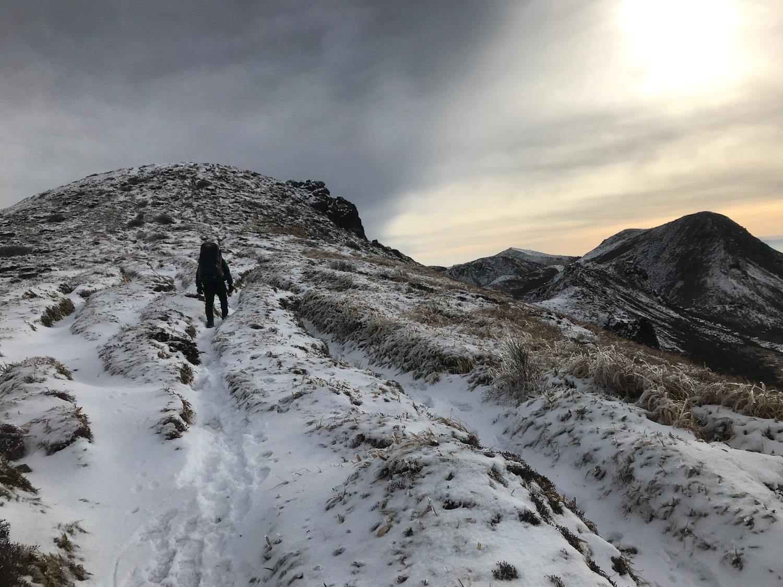 休みになると山歩きin久住冬-2_f0232994_15172558.jpg