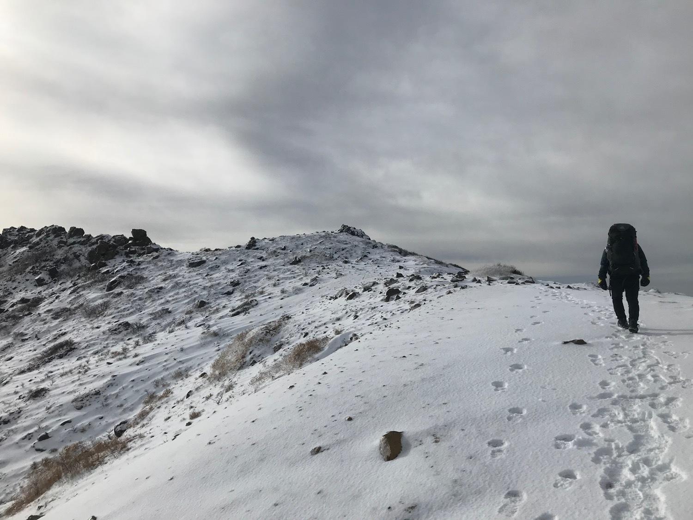 休みになると山歩きin久住冬-2_f0232994_15194485.jpg