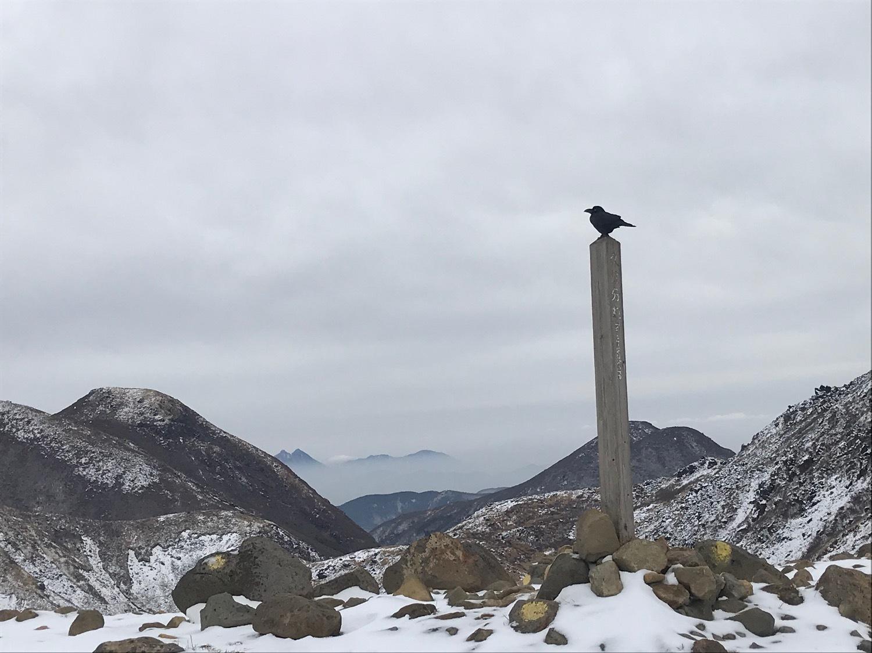 休みになると山歩きin久住冬-2_f0232994_15203977.jpg