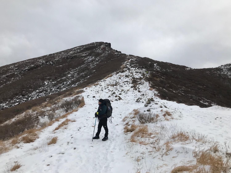 休みになると山歩きin久住冬-2_f0232994_15205649.jpg