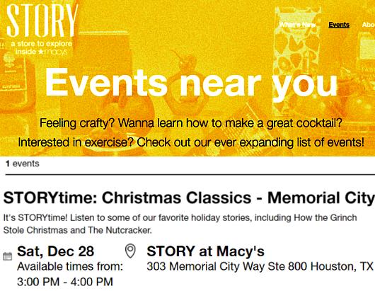 ホリデーシーズン、Macy\'s店内のストーリーは、「Home For Holidays」_b0007805_08122650.jpg