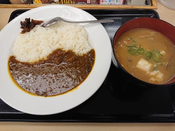 12/26 創業ビーフカレー豚汁チェンジ@松屋_b0042308_06512098.jpg