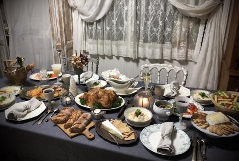 旦那さんの手料理でクリスマスディナー2019_a0157409_09265284.jpeg