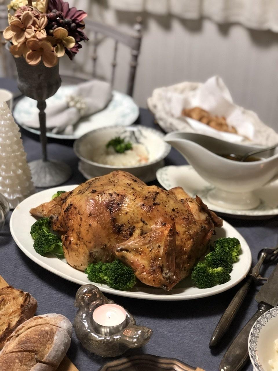 旦那さんの手料理でクリスマスディナー2019_a0157409_09274048.jpeg