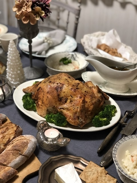 旦那さんの手料理でクリスマスディナー2019_a0157409_09280076.jpeg