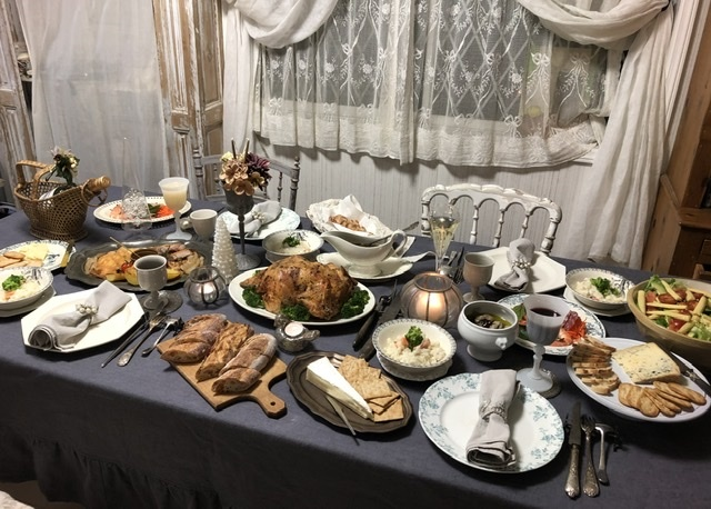 旦那さんの手料理でクリスマスディナー2019_a0157409_09283959.jpeg