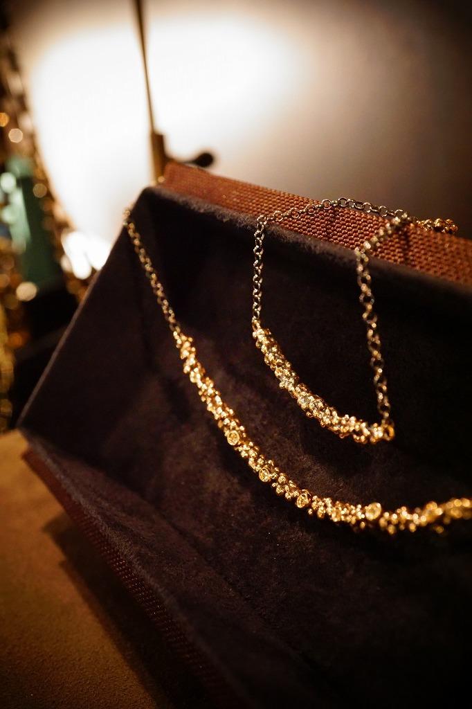 ddm新作diamond necklace_b0115615_16391484.jpg
