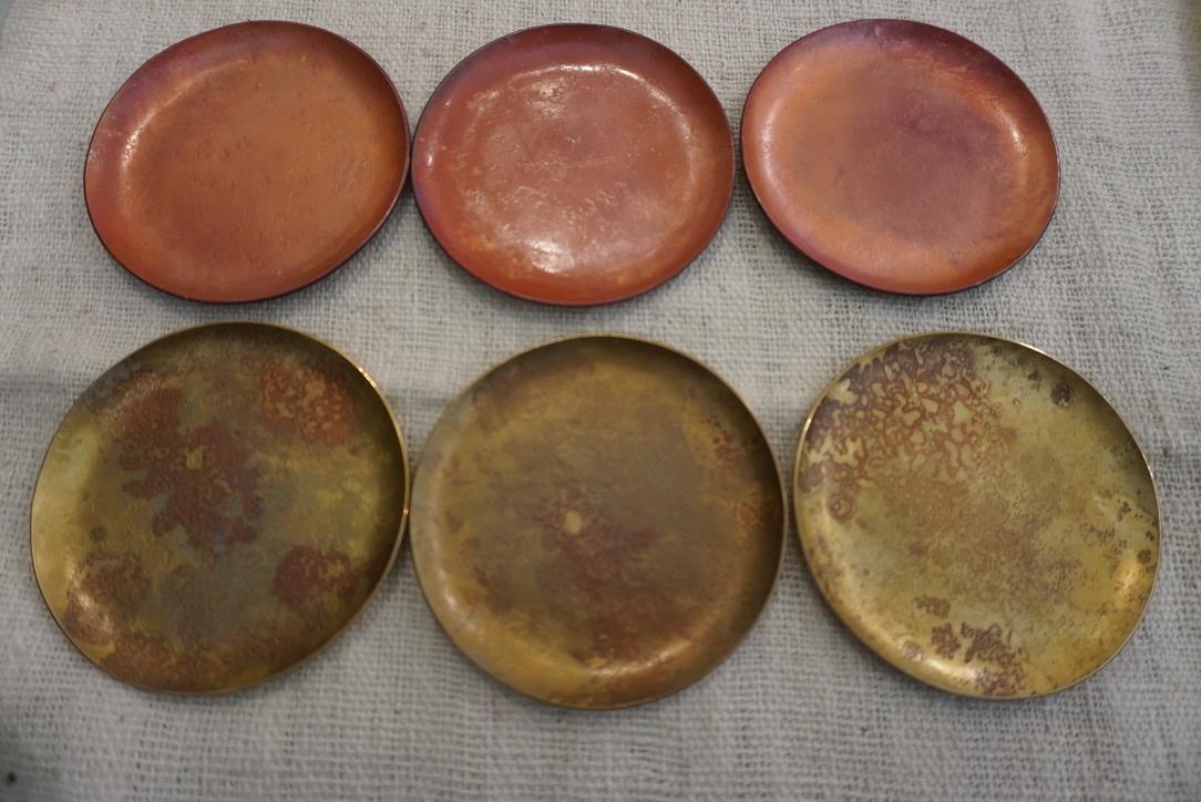 真鍮のお皿 奥澤華_b0132442_16402381.jpg