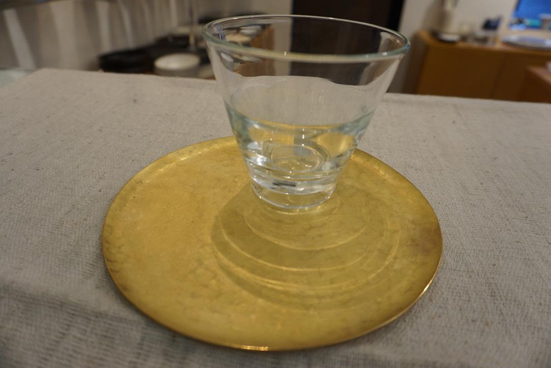 真鍮のお皿 奥澤華_b0132442_16403495.jpg