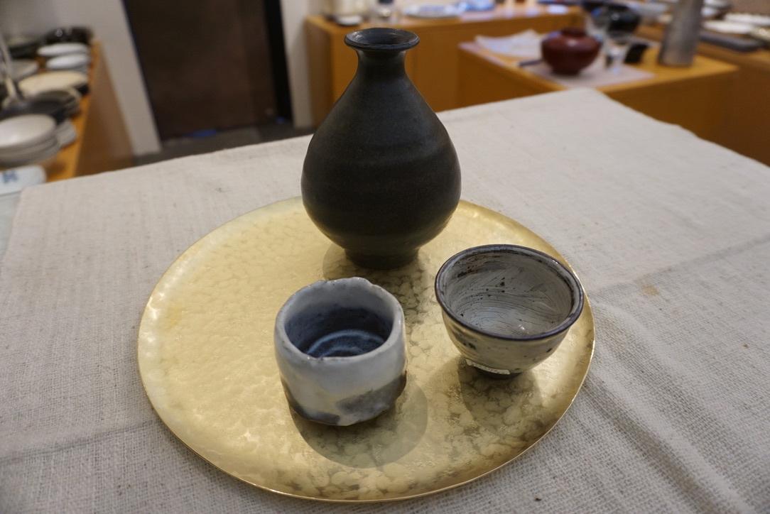 真鍮のお皿 奥澤華_b0132442_16403779.jpg