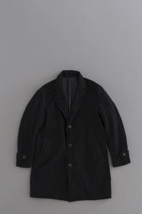 COMME des GARCONS HOMME  W/A Cloth Garment Dye Coat (Black)_d0120442_1522943.jpg