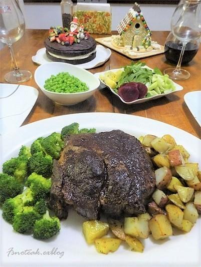 急いだ Christmas Eve Dinner_d0356844_14552964.jpg
